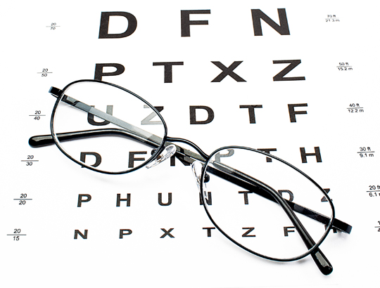 vision check